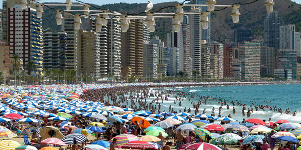 difusion de imagenes en playas